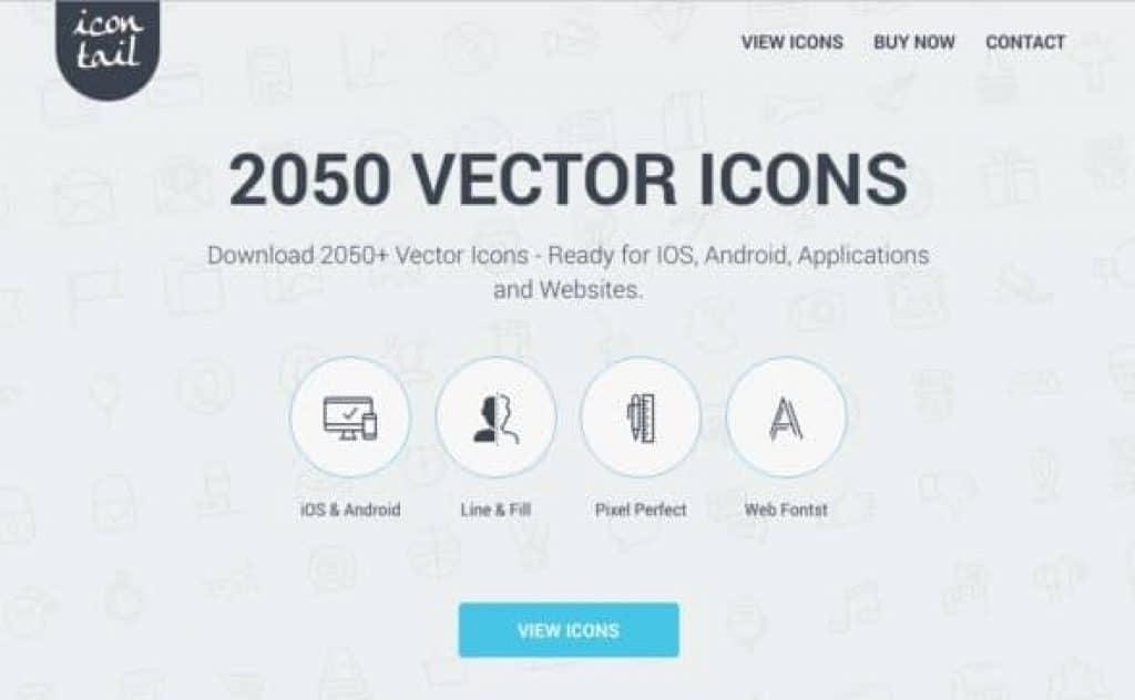 Descubre Icontail, el Mejor Icon Set, ahora con 50% Off! 4