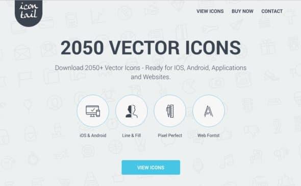 Descubre Icontail, el Mejor Icon Set, ahora con 50% Off! 1