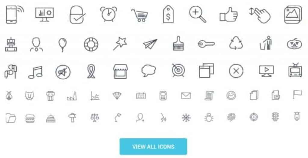 Descubre Icontail, el Mejor Icon Set, ahora con 50% Off! 6