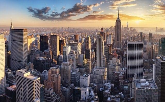Vista Aerea Nueva York Dia