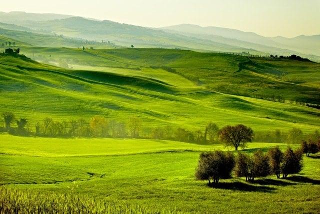 Paisaje Campestre Toscana Italia