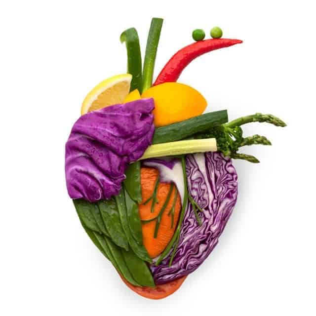 Corazon Humano Frutas Vegetales