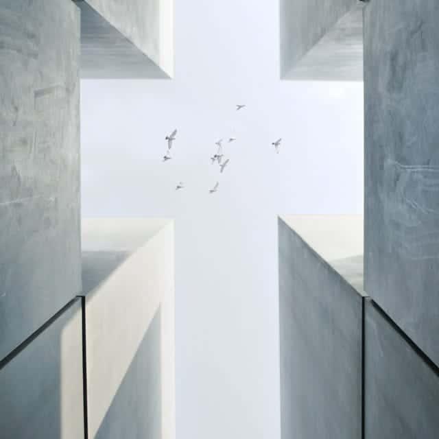 Fe Espiritualidad Arquitectura Aves Cielo