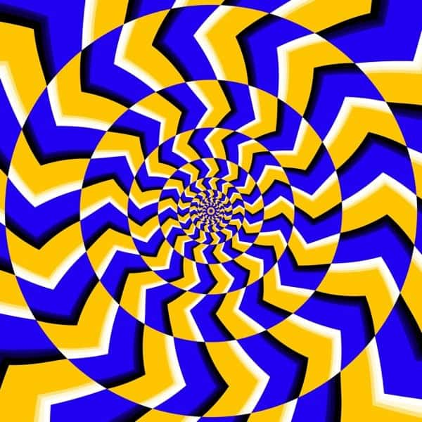 Espiral Circular Efecto Movimiento