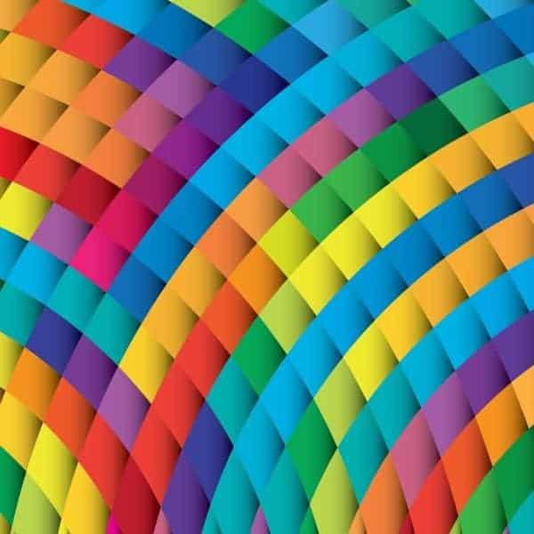 Patron Geometrico Multicolor