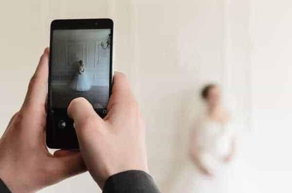 Novia Foto Celular Smartphone
