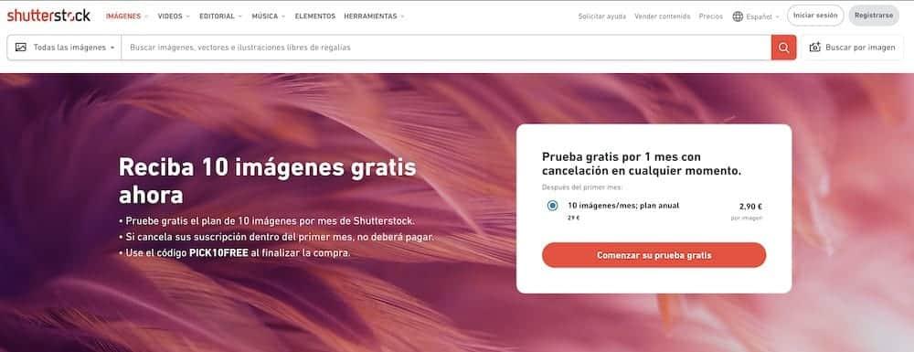 Shutterstock Gratis