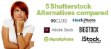 5 Alternativas a Shutterstock comparadas que te sorprenderán