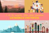6 de los mejores sitios para encontrar ilustraciones de stock únicas