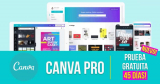 Impresionante prueba gratuita de Canva! Disfruta de Canva Pro gratis durante 45 días